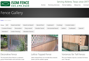 Isom-Fence-Website