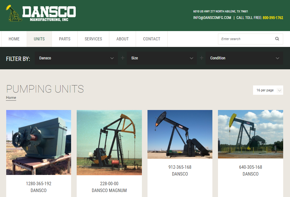 Dansco Website