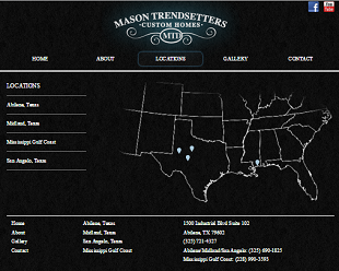 Web hosting and design project for Mason Trendsetters
